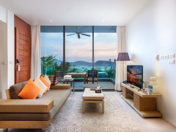1 Bed Sea View Condo in Patong -1240 172