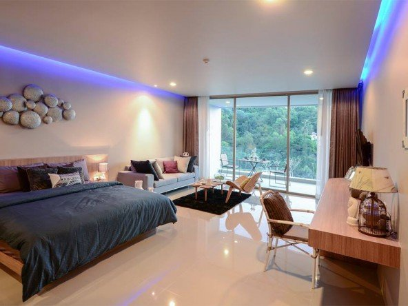 Studio Condo 300m from Karon Beach - 1066 144