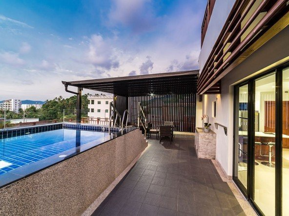 2 Bed Sea View Condo with Pool in Surin -1241 170