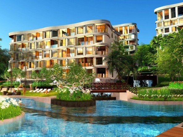 1 Bedroom Hillside View Condo in Rawai -1293 388
