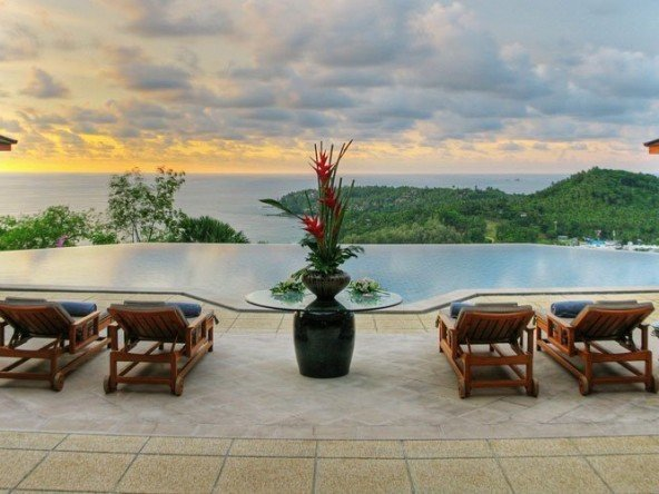 Luxury Villa Stunning Views of Surin Beach -5136 12