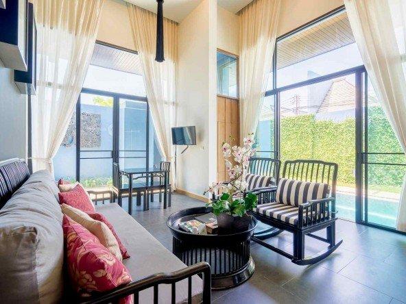 1 Bed Modern Abode Pool Villa in Bangtao -5012 28