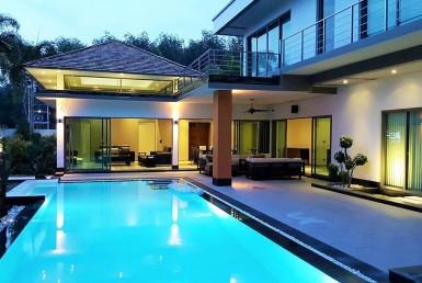 Ultra modern luxury 4 bed pool villa - 5015 37
