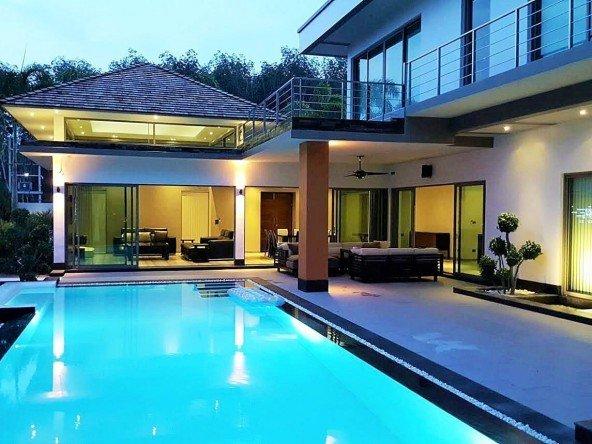 Ultra modern luxury 4 bed pool villa - 5015 36