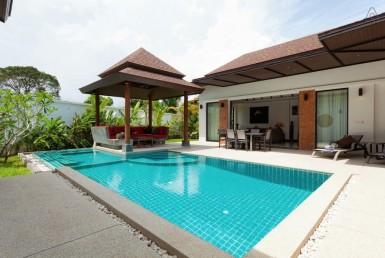 Thai Bali Style Tropical Garden Pool Villa - 5016 38