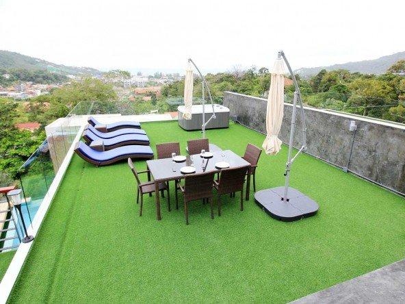 Sea View 3 Bed Pool Villa in Kamala -5064 36
