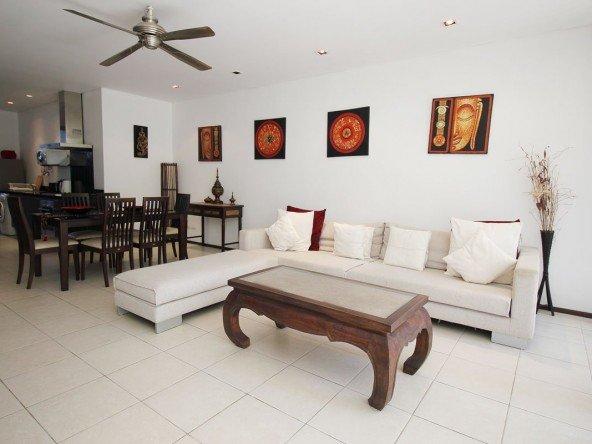 2 Bed Ground Floor Apartment Bangtao - 1132 24