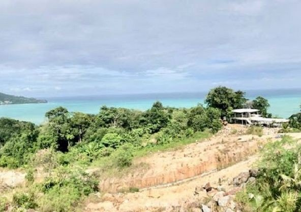 Sea View Land Plot for Sale in Surin -L002 268