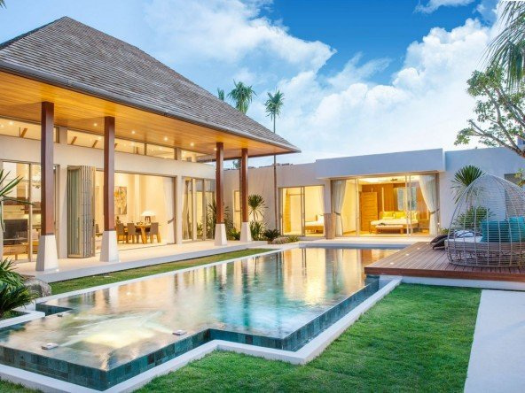 Tropical Luxury 3 Bed Pool Villa in Layan -5125 14