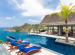 Swimming pool at villa 2, Samsara private estate, Kamala, Phuket, Thailand
